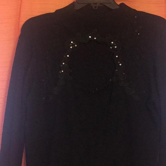 Ashley Stewart Dresses & Skirts - Sequin black dress